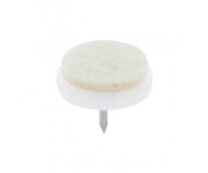 Filzgleiter Möbelgleiter Fußbodenschoner selbstklebend RUND 28 mm NEU